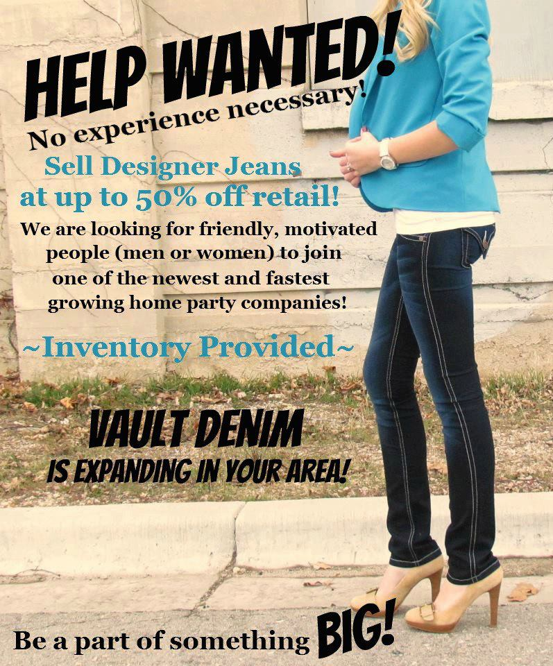 Fashion Consultants Needed Sell Designer Jeans Discount Prices Marietta Anywhere Ga