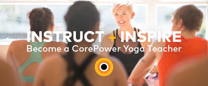 corepower yoga teacher training