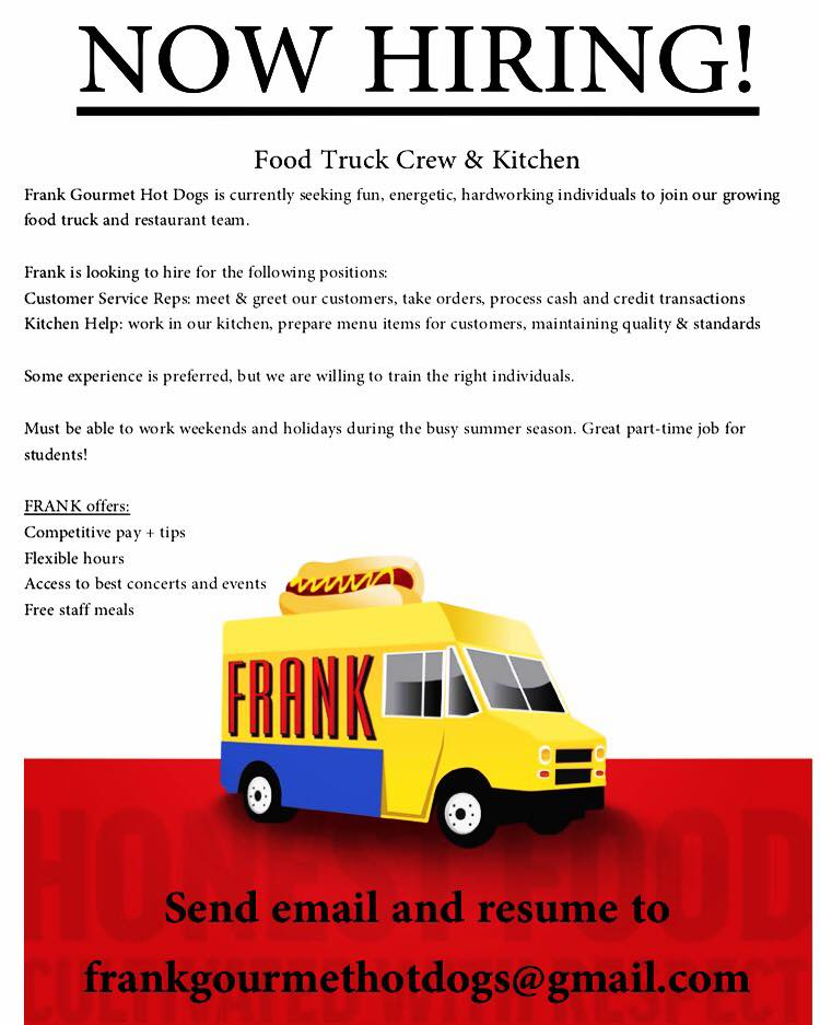 Food Truck Crew & Kitchen Staff In Buffalo, NY, United