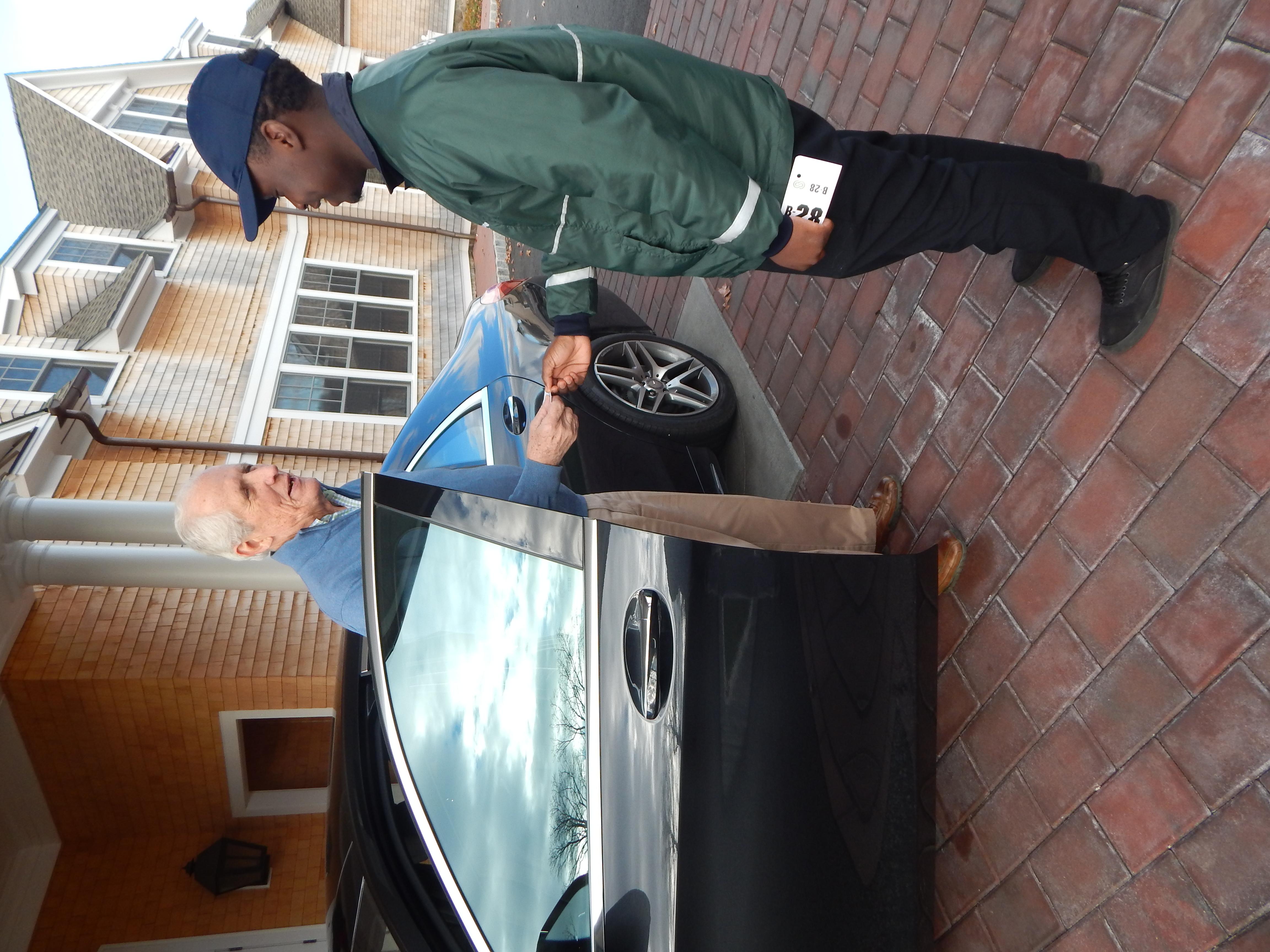 valet parking driver resume