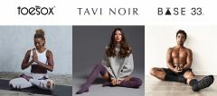 ToeSox + Tavi Noir
