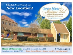 Greater Atlanta Montessori School for ages 6 mo to 6 yrs old
