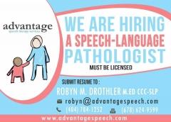 Advantage Speech Therapy Services