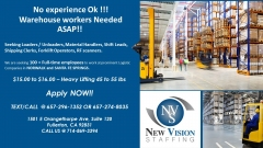 New Vision Staffing