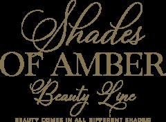 Shades of Amber Beauty Line