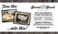 Board and Brush Creative Studio - Snohomish