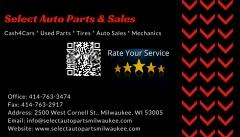 Select Auto Parts & Sales Inc.