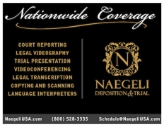 Naegeli Deposition and Trial
